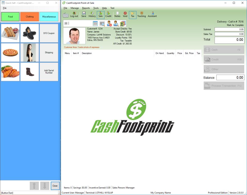 CashFootprint Professional - POS