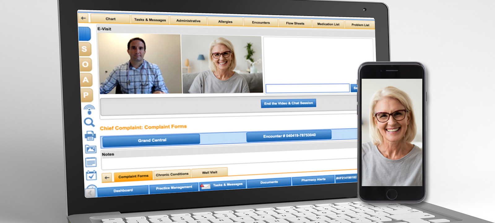 NextGen Office (Formerly Known as MediTouch) - Telehealth