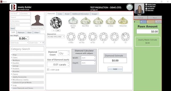 Jewelry Estimator