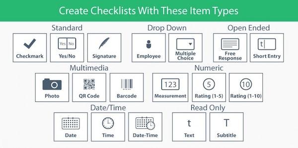 Checklist customization