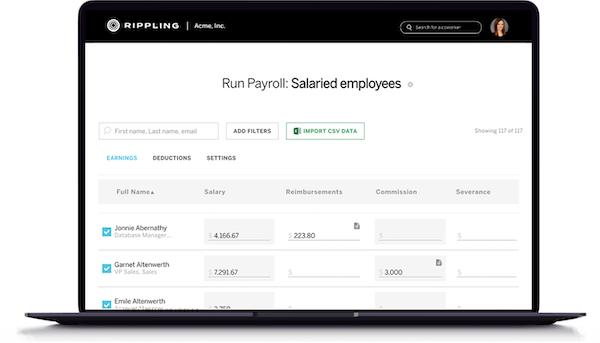 Rippling Payroll
