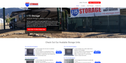 Easy Storage Solutions - Website creation