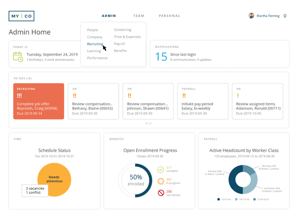 Workzoom Admin Dashboard