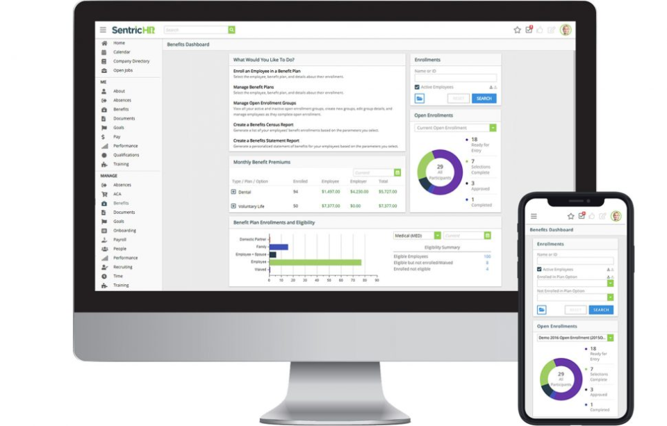 SentricHR - Sentric HR - Web and Mobile