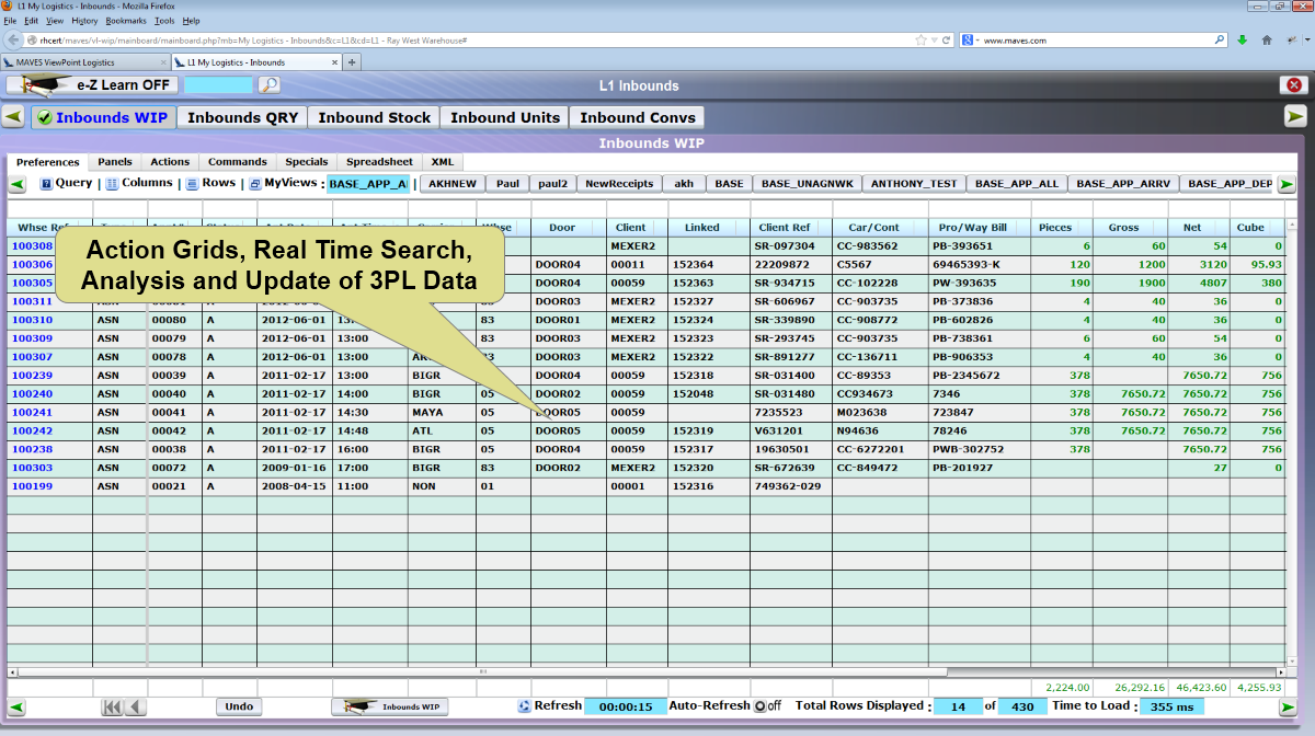 Search and analysis