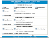 Select competencies