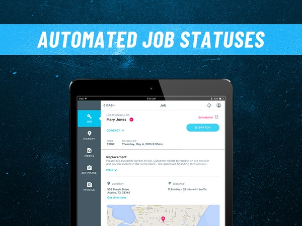 ServiceTitan Job Statuses