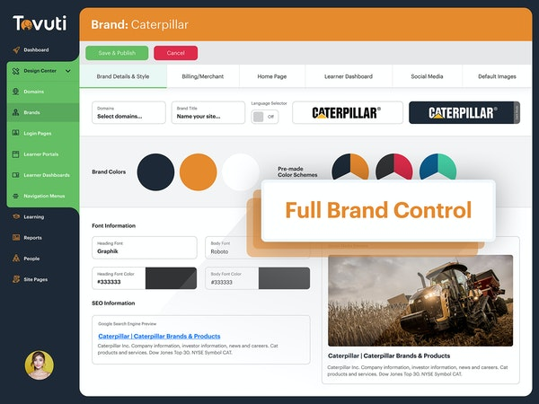 Full Brand Control