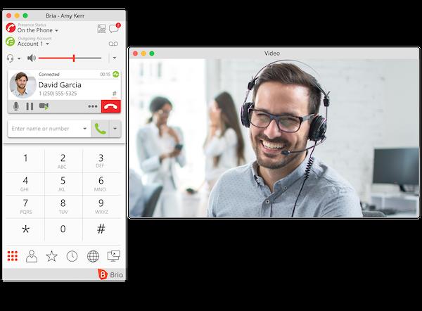 Desktop: In Call
