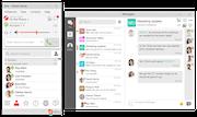Desktop: Messaging & Rooms