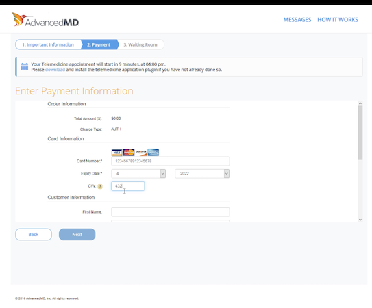 Online Payment Options