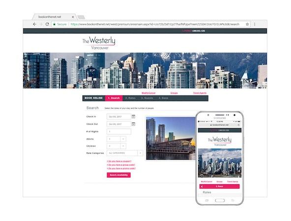 RoomKeyPMS Internet Booking Engine