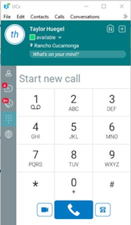 Desktop Dial Pad