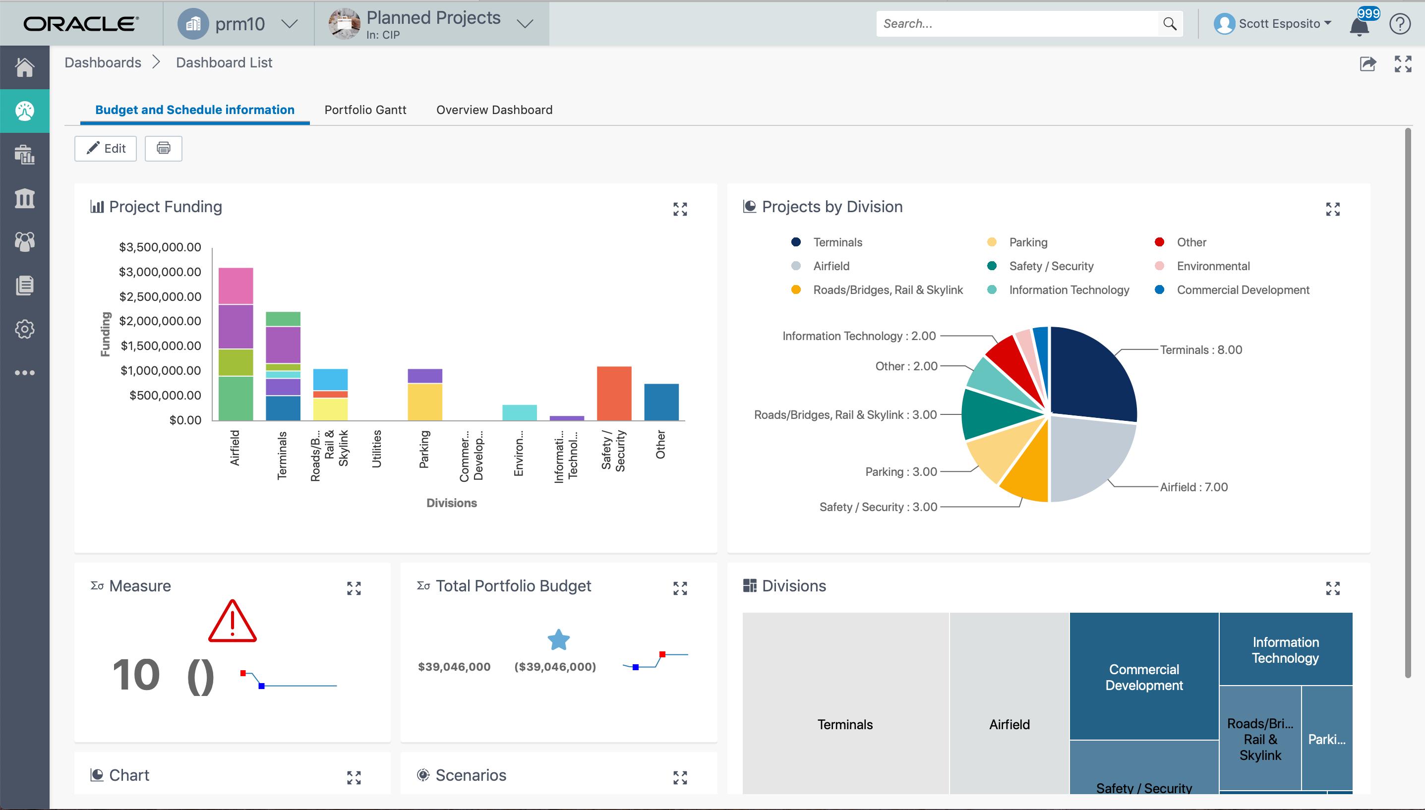 Oracle Primavera - Optimize Portfolio Performance