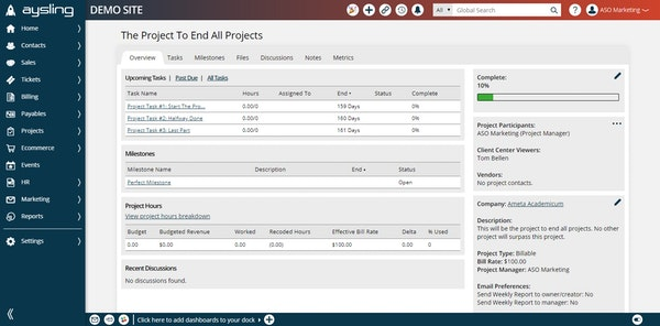 Streamlined Project Management