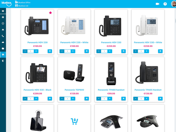 Blueface Store Overview