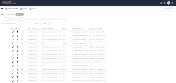 Configure One CPQ - Orders
