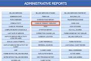NextStep - Administrative Reports