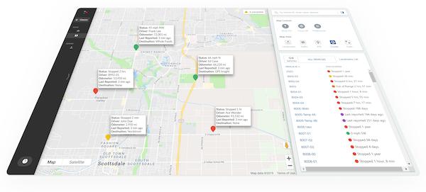 EcoTrack Fleet Management - Mapping Platform