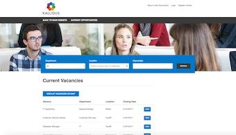 Website careers page