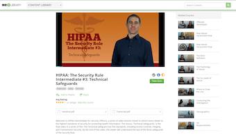 HIPAA video lesson