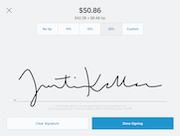 Square Point of Sale - Square Point of Sale -Customer signature