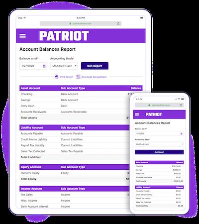 Account Balances Report