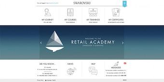 E-learning dashboard