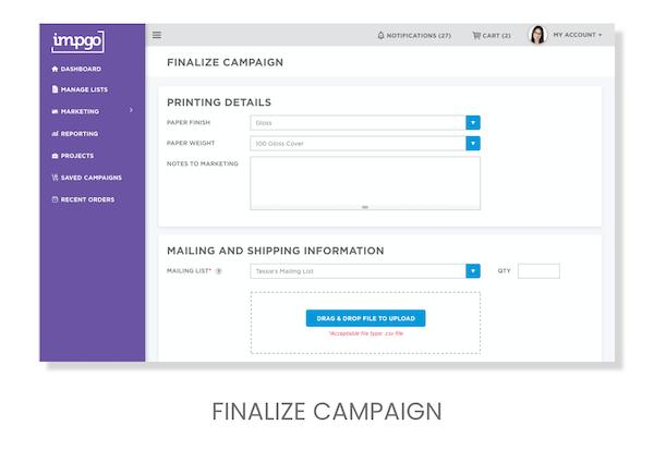 Finalize Campaign