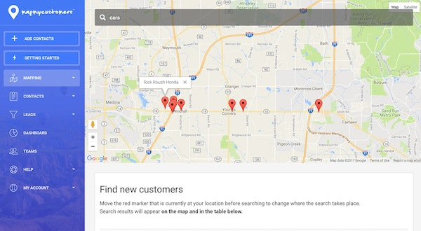 Map My Customers Software - 2019 Reviews, Pricing & Demo