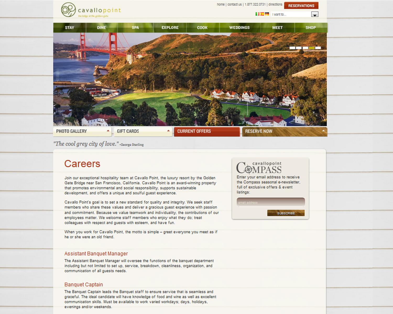 Career page integration