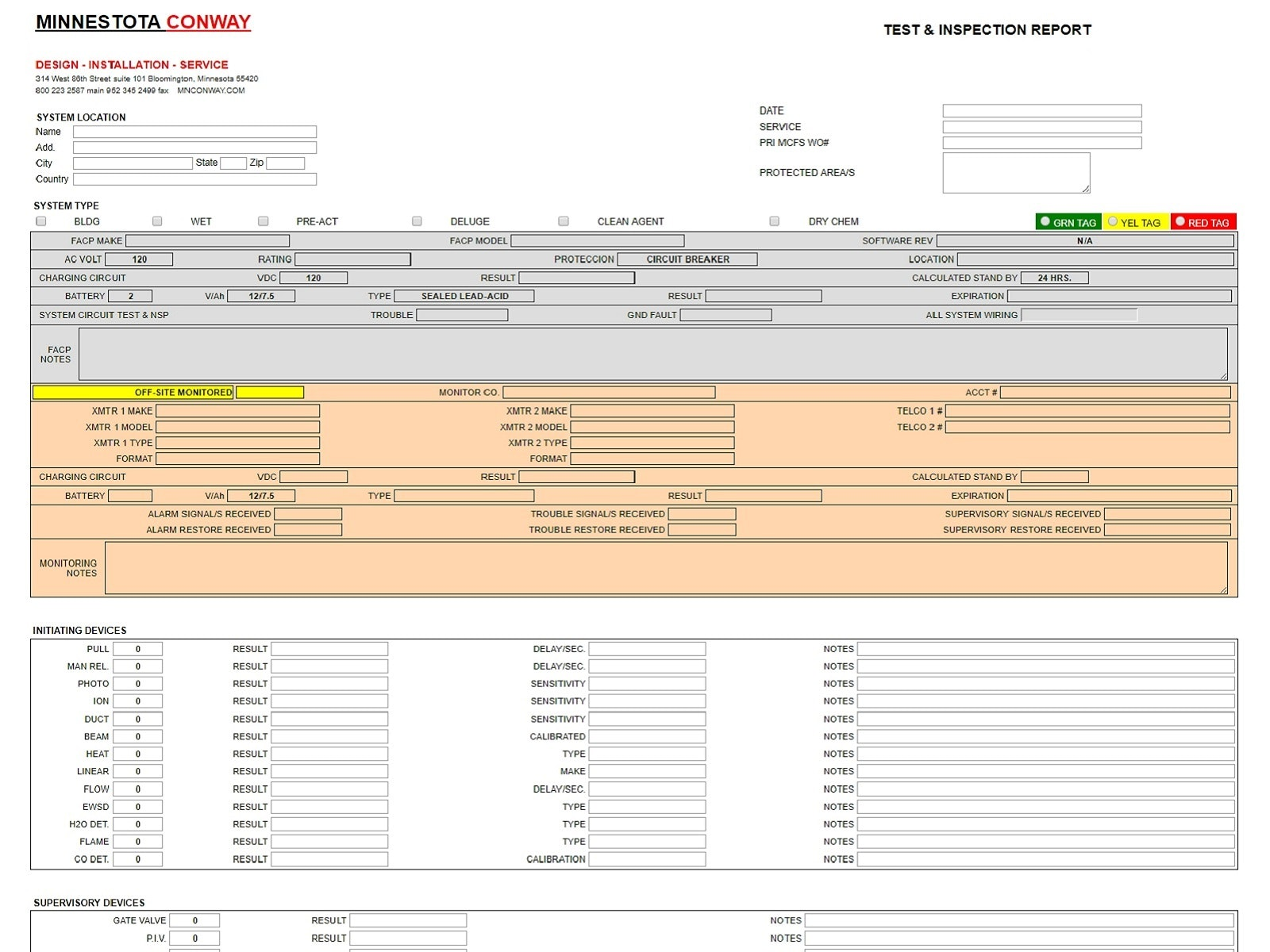 Mobile Inspection Forms