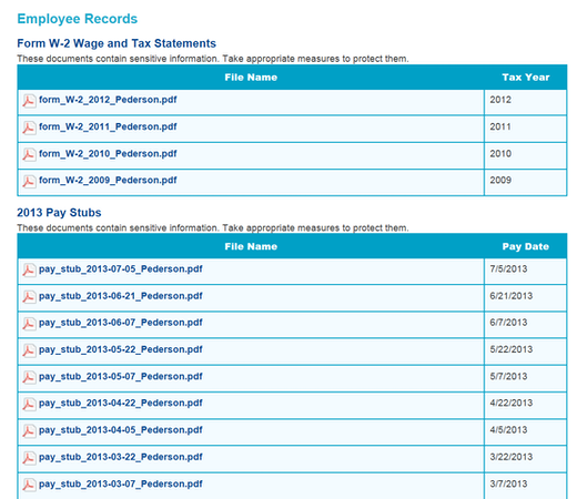 Payroll Distribution and Records
