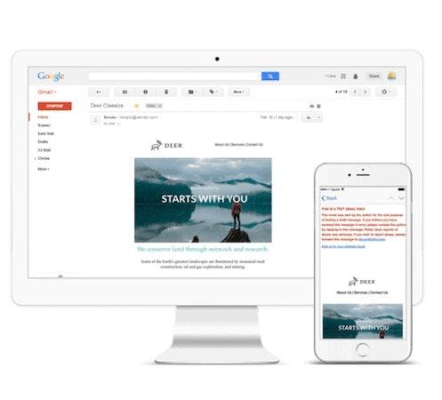 Mobile responsive templates