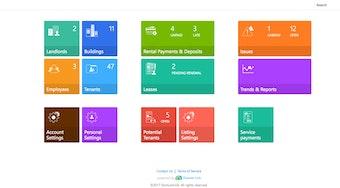 Management portal - home dashboard