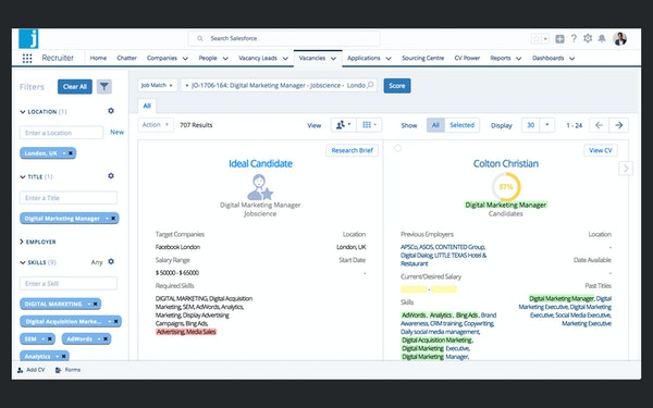 Jobscience Recruiting Software 2019 Reviews Amp Pricing