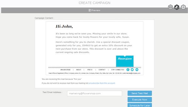 Campaign content
