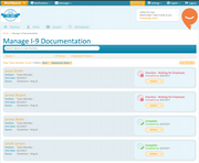 Manage I-9 documentation