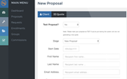 Proposal support