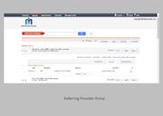 Referring provider portal