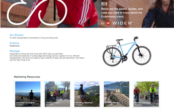 Widen Collective brand portals