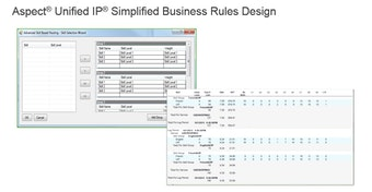 Simplified business rules design