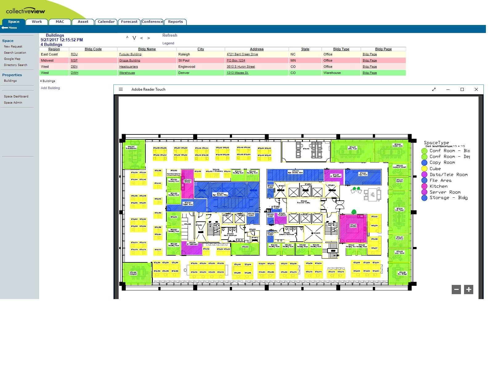 Searchable Floor Plans
