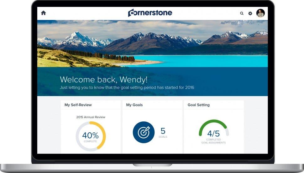 PiiQ by Cornerstone - Home screen