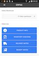ERPAG - Mobile app
