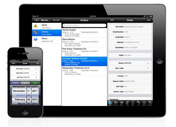 Service Pro for iPad and iPhone