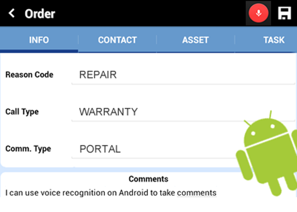 Service Pro Mobile for Android