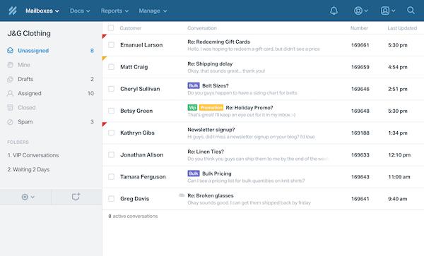 Mailbox folder
