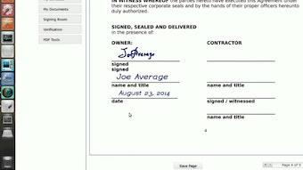 Digital signed documents
