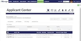Applicant Center